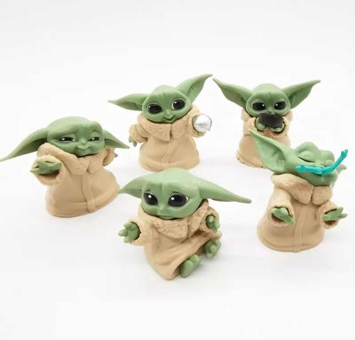 Imagen 1 de 5 de The Mandalorian Baby Yoda Set