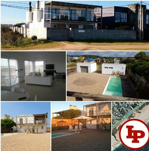 Casa 4 Dorm, 3 Baños, Balneario Buenos Aires Frente Al Mar.
