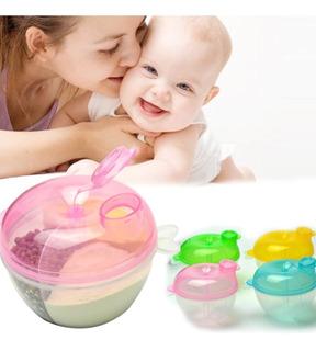 Contenedor Dosificador Comida Leche Formula Semillas Bebé