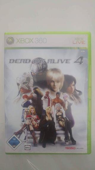Dead Or Alive 4 Original - Xbox360