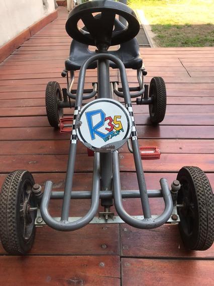 Karting Infantil. A Pedal. Con Cadena. Muy Poco Uso