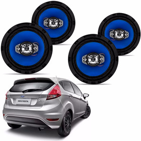 Kit 4 Alto Falante 6 Pol Orion Ford Fiesta 220w Rms Carro