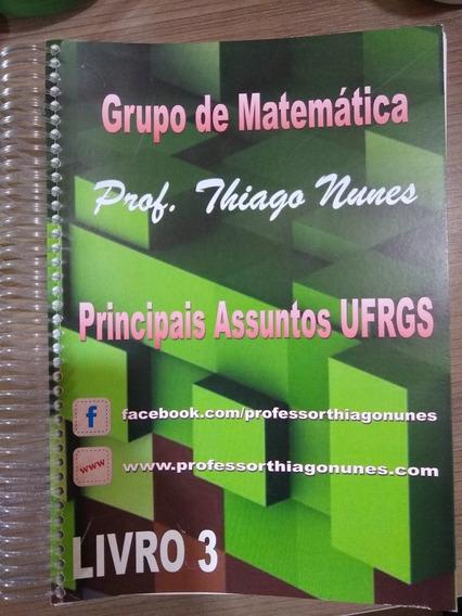 Apostila De Exercícios Matemática Principais Assuntos Ufrgs
