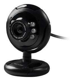 Webcam Multilaser Wc045 Night Vision 16 Megapixel Usb Led
