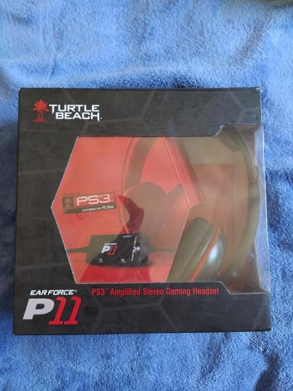 Headset Turtlebeach P11 Com Defeito