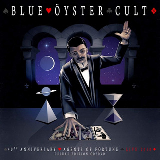 Cd/dvd Blue Oyster Cult 40th Anniversary Agents Of Fortune