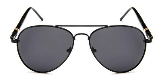Gafas De Sol Hombre Estilo Aviador Uv 400 Lentes Aviator