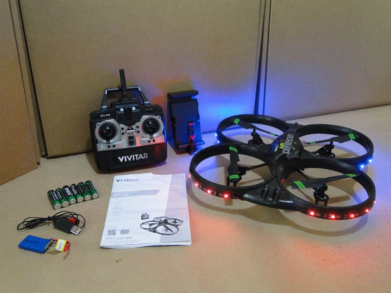 Drone Vivitar Drc-333-wm Com 16.1mp Camera E Wi-fi