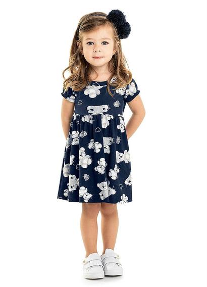 Lote Infantil Barato: 3 Vestidos Da Marca Rovitex Kids Tam 1