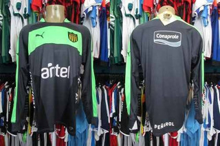 Peñarol 2014 Camisa De Goleiro Tamanho Gg.