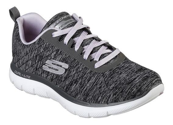 Zapatillas Skechers Flex Appeal 2.0 Mujer Memory Foam