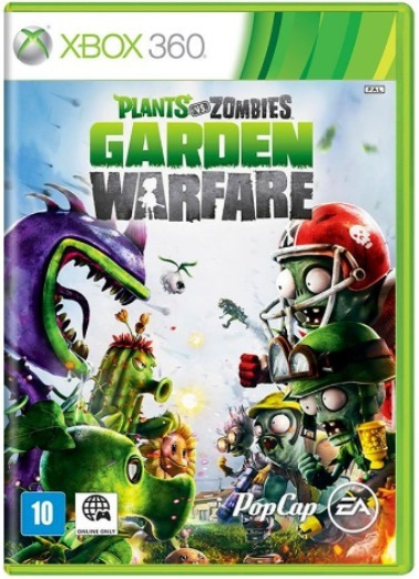 Plants Vs Zombies Garden Warfare Xbox 360 Original Frete$12
