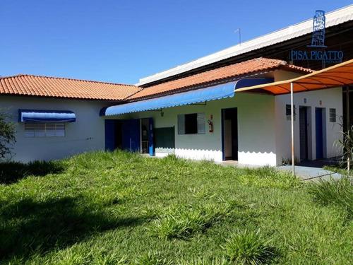 Imagem 1 de 14 de Chácara Para Alugar, 3496 M² Por R$ 12.000,00/mês - Betel - Paulínia/sp - Ch0108