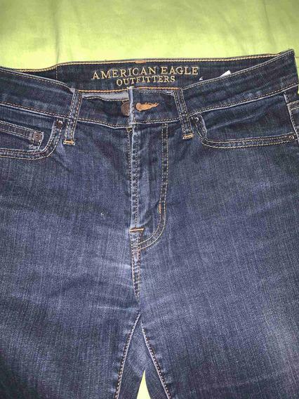 Pantalon American Eagle 32 Super Skinny Negro Mercado Libre