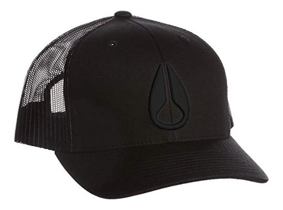 Gorra Nixon Iconed Trucker Hat Black