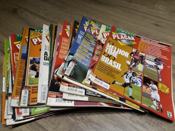 Revista Placar Semanal Inteiras- Kit 35 Edições Bom Estado