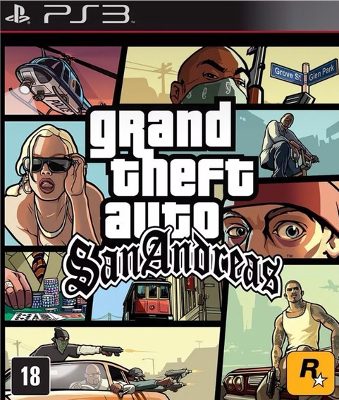 Gta San Andreas Ps3 Psn Comprar Play 3