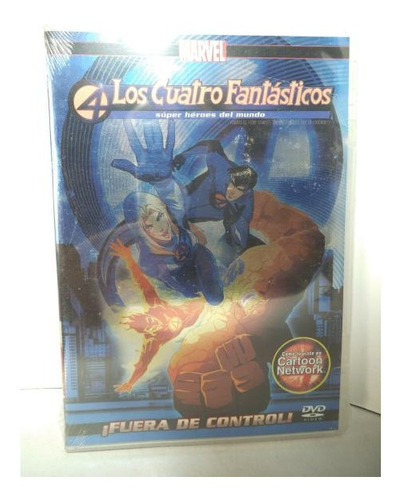 Los 4 Fantasticos Fuera De Control  Dvd