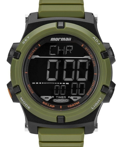 Relógio Esportivo Mormaii Acqua Pro Militar Original