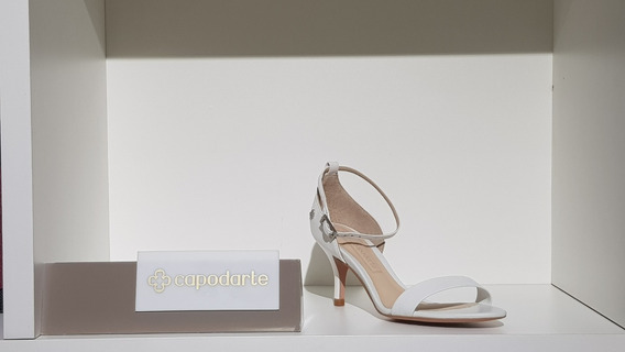 Sandália Salto Fino Baixo-capodarte 4009436