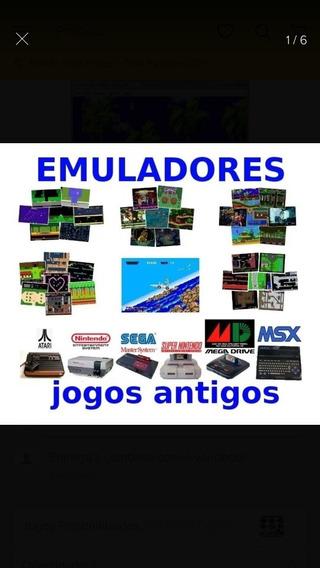 Novo -emuladores 10000jgs Pc Snes Megadrive