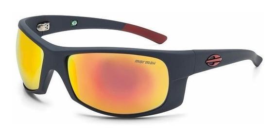 Oculos Sol Mormaii Acqua 287d9911 Cinza Fosco Lente Vermelho