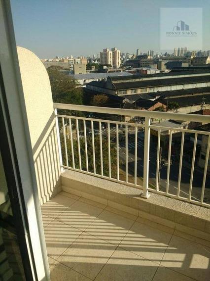Sala À Venda, Mooca, 35 M², Com Sacada, Rua Almirante Brasil, São Paulo/sp - Sa0268