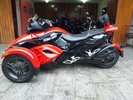 Can Am Spyder Rs Vermelho 2010