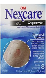 Nexcare Tegaderm, Vendaje Transparente Impermeable, Flexible