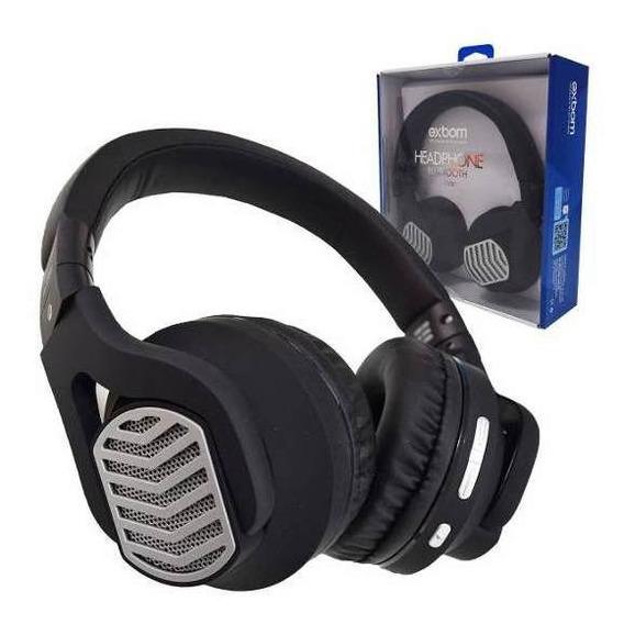 Fone Headphone Sem Fio Bluetooth Multimídia Cartão Cabo P2