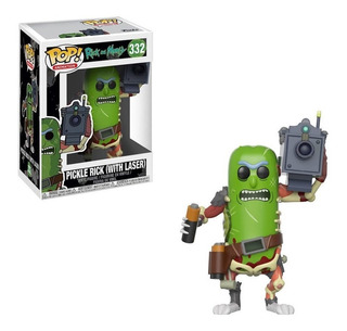 Funko Pop Animation - Pickle Rick Con Laser 332
