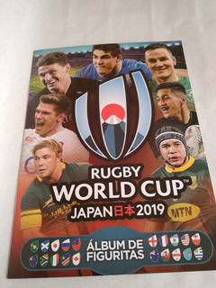 Álbum Rugby World Cup Japan 2019 Completo C/ Figus A Pegar