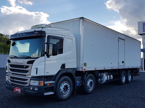 Scania P 250 Bitruck 2012 2013 Báu 9,10 Mts