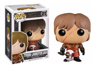 Funko Pop, Game Of Thrones(21) Tyrion Lannister In Battle
