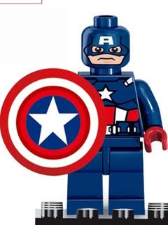 Lego Spideman Thor Hulk Batman Iron Man Batman Wolwerine