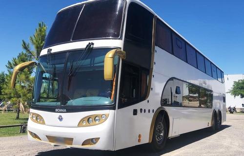 Omnibus Doble Piso Scania K420 2012 Cretarder