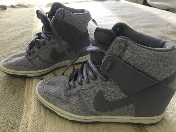 Zapatillas Botitas Nike De Mujer O Niña Usadas Pero Sin Uso