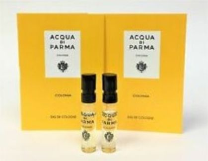 2 Amostras Acqua Di Parma Colonia 1,5ml Cada, Total 3ml