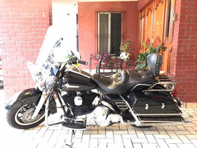 Harley Davidson Flh Police 1340cc !! 1992 Impecable De Coche