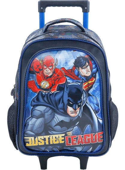 Mochilete 16 Liga Da Justiça Heroes United 7620 Original
