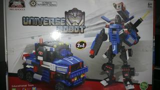 Lego Alternativo Transformers Optimusprime 500 Piezas 2 En 1