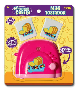 Juguete Niña Plastico Mini Tostador (caja Con 48 Pzas)