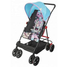 Carrinho De Bebê Novo Damiano Tutti Baby Rosa