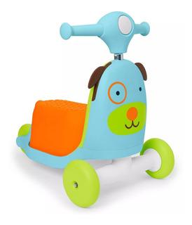 Patineta, Scotter Para Niña O Niño Skip Hop 3 En 1 Perro Un