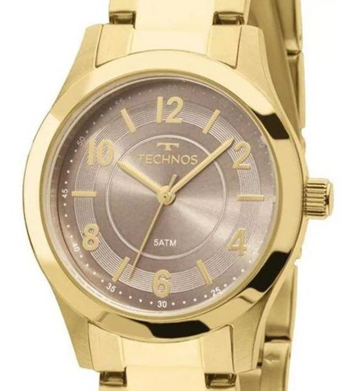 Relógio Technos Feminino 2035mft/4m Dourado C/ Nota Fiscal