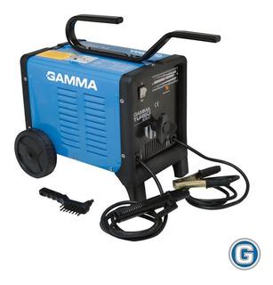 Soldadora Eléctrica Gamma Turbo 220 Maquina Soldar Elec 3,2