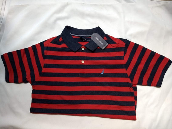 Playera Nautica Original Tipo Polo
