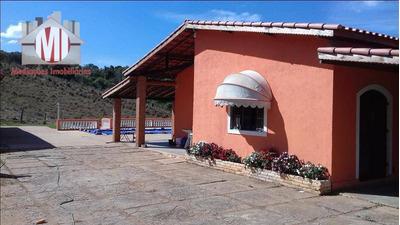 Sítio Com 03 Dormitórios À Venda, 96000 M² Por R$ 720.000 - Zona Rural - Pinhalzinho/sp - Si0019