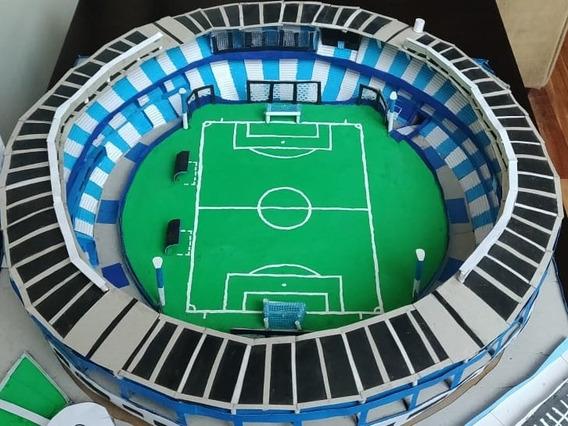 Maqueta Artesanal Estadio Racing Club Cilindro De Avellaneda