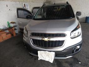 Chevrolet Spin Cor: Prata, 2016 Com Kit Multimídia, Completo